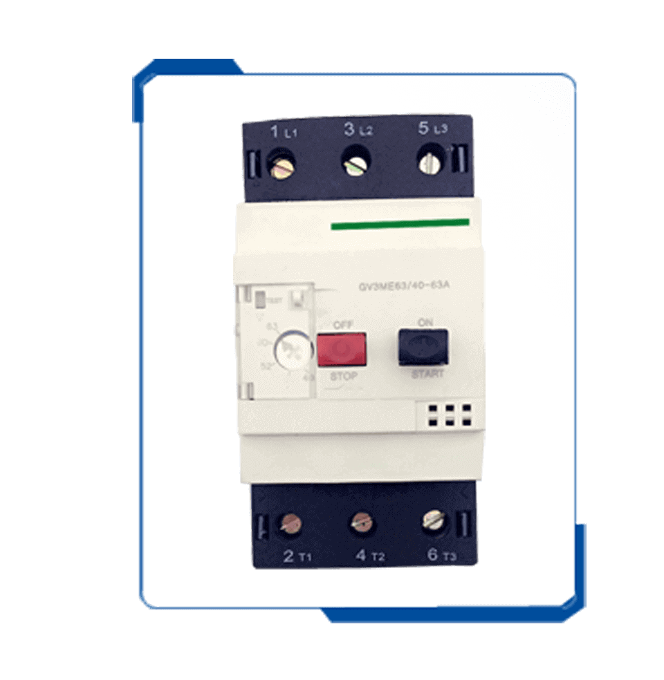 GV3 adjustable circuit breaker MPCB motor protection switch