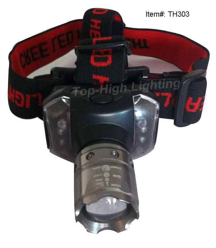 Power CREE Led Zooming Headlamp TH303