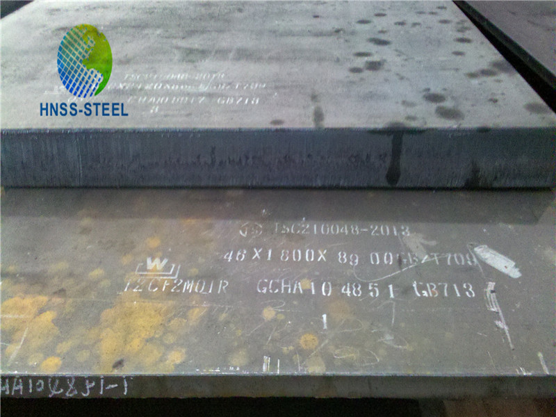 Supply ASTM A690 corrosion resistant steel