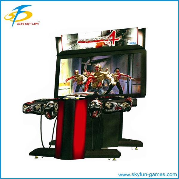entertainment electronic shooting gun game machine