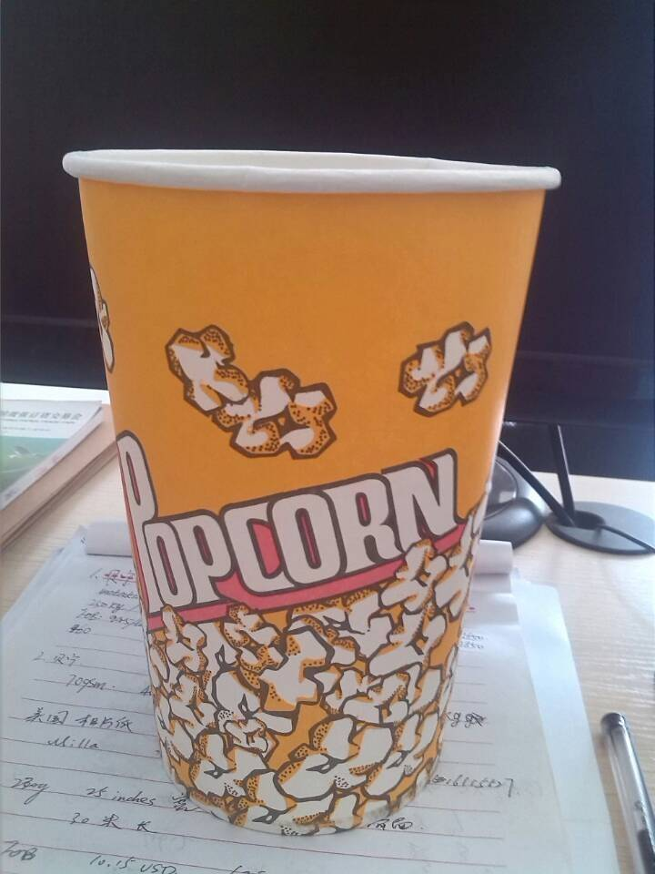 supply popcorn bucket