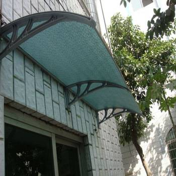 XINHAI Economic Outdoor DIY polycarbonate door awning canopy shade solid balcony awnings