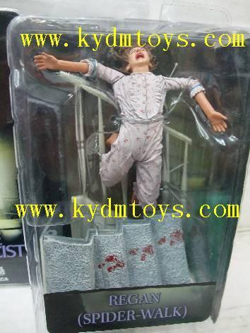 MOQ(USD300) NECA 7 Regan Spider-Walk for THE EXORCIST cartoon statue figure ky2932