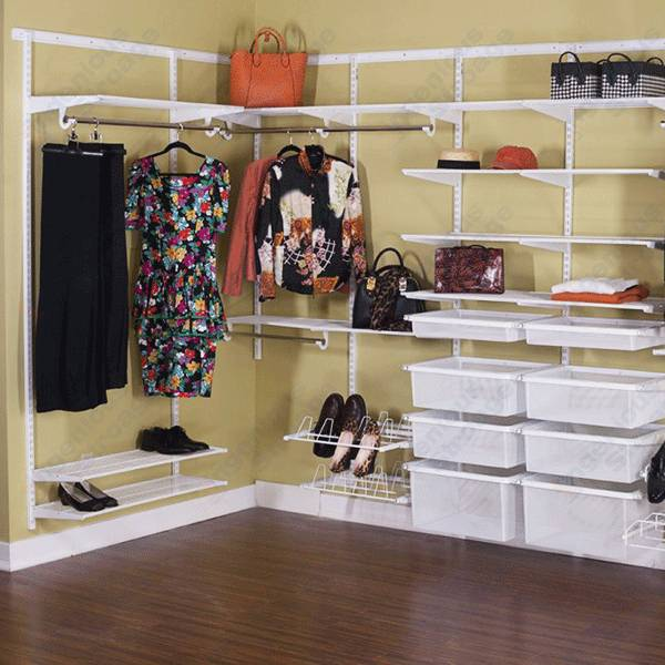 Classic Wire Shelving Wardrobe System