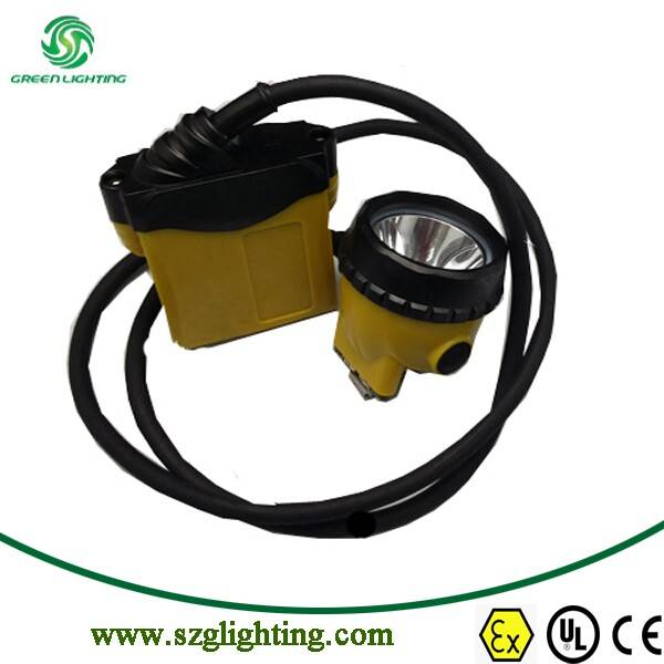 LED Mining Light Cord Cap Lamp in Headlamps