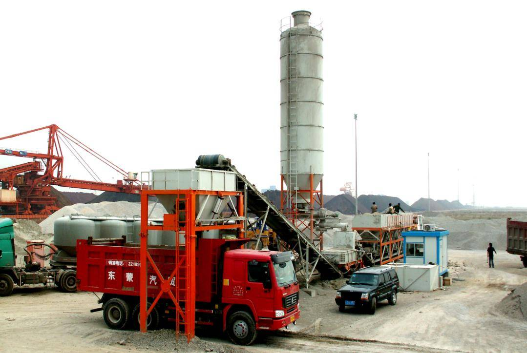Stabilized Soil Mixing Plant (MWB700) -004