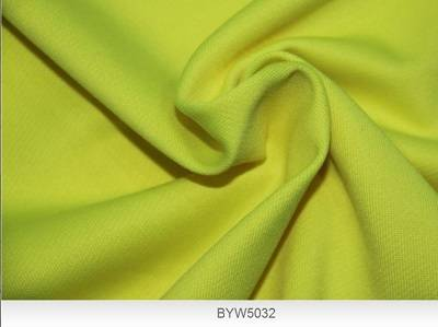Semi-dull 4 way stretch polyester spandex fabric
