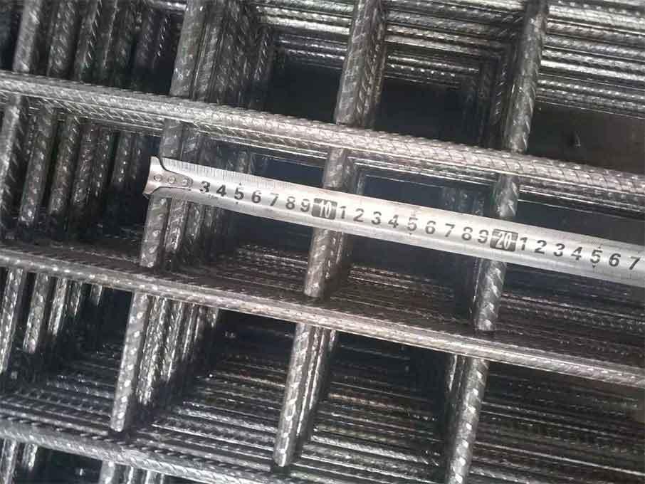 D5 / D6 / D7 / D8 / D9 / D10 / D11 / D12 / D14 / D16 welded mesh with ribbed