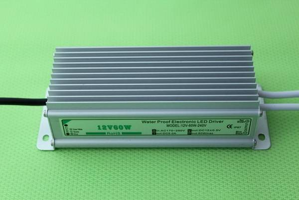 Constant Voltage Waterproof Led Power Supply 12V 60W