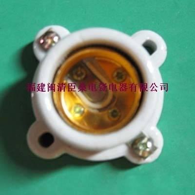 E27-517M Porcelain lampholder