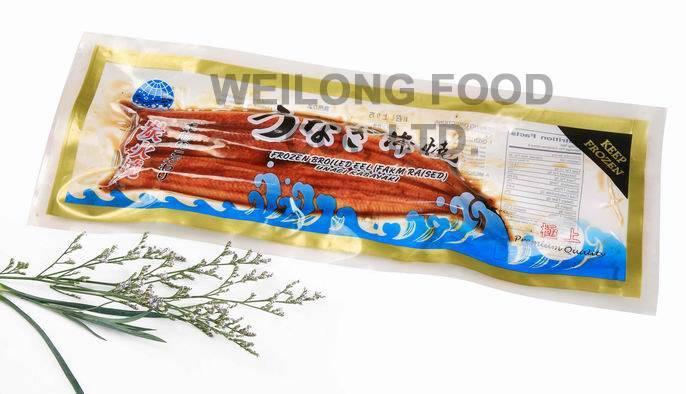 Frozen Roasted Eel -Vacuum Packing