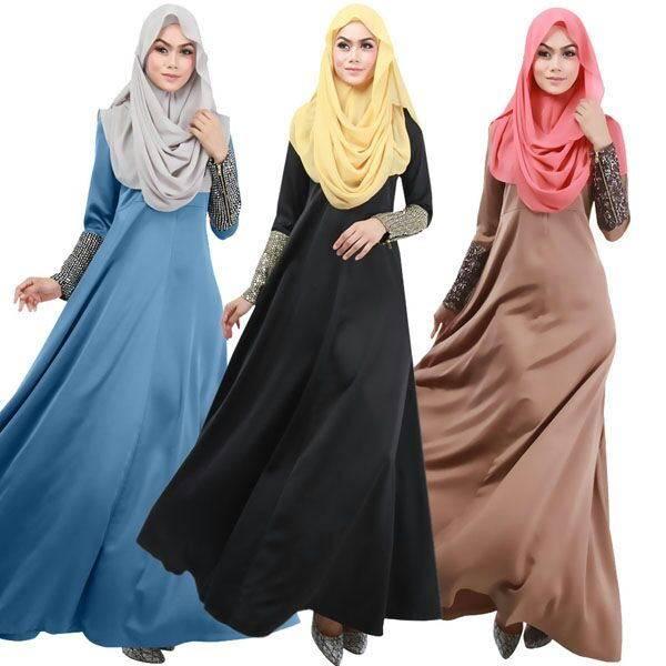 muslim women latest fashion islamic kaftan abaya dress