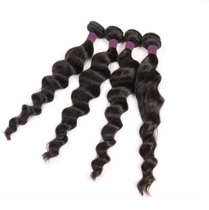 [9A]4 Bundles Brazilian Loose Wave Human Hair Weave