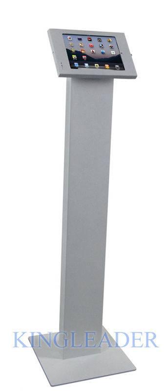 Freestanding iPad Enclosure Kiosk Lockable Stand