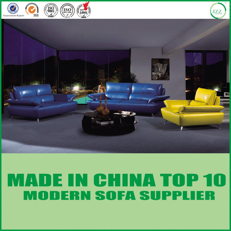 Modern Genuine Italian leather sofas set LZ020