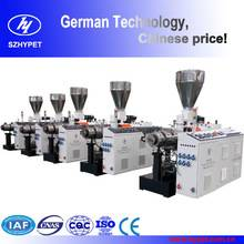 German technology conic twin Extruder machine
