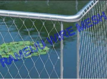 Stainless steel cable netting- best choice for your building fence,stair protection and decoration