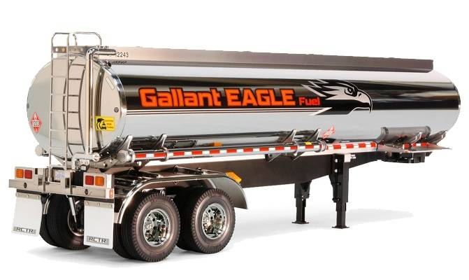 Tamiya Gallant Eagle Fuel Tanker Trailer Truck Assembly Kit