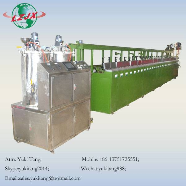 Newest PU earplug foam machine Earplug prduction line