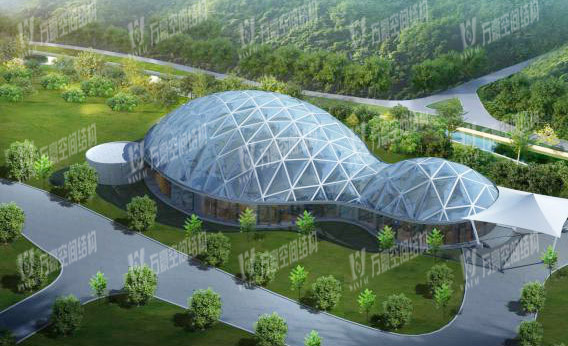 ETFE film price of air pillow membrane structure project