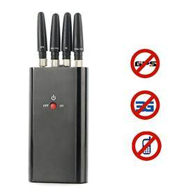 Portable Full-function Cellphone & GPS Jammer
