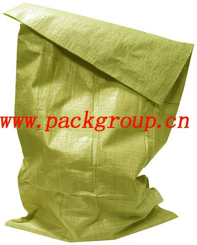 yellow color pp woven bags for maize