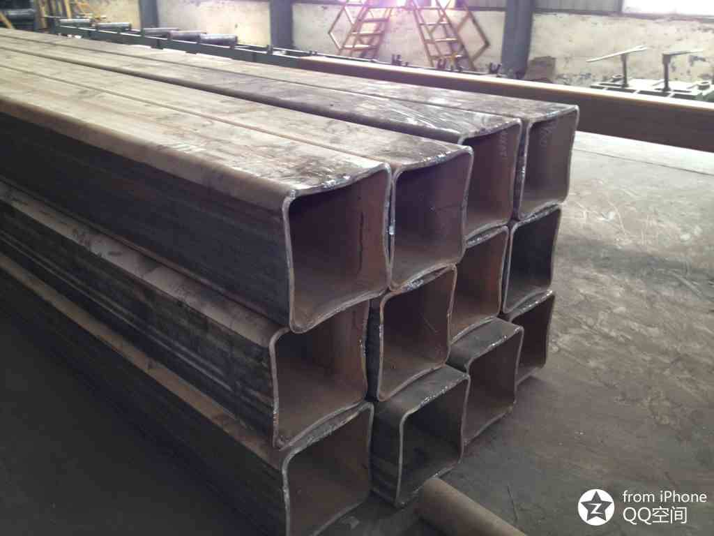 construction material Q235 square steel pipe in stock