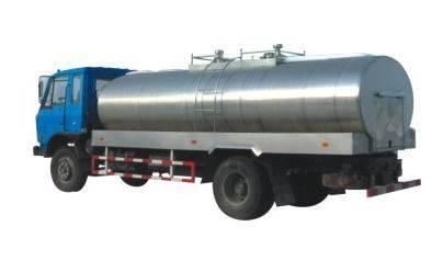 Liquid Food Carry Vehicles Tank