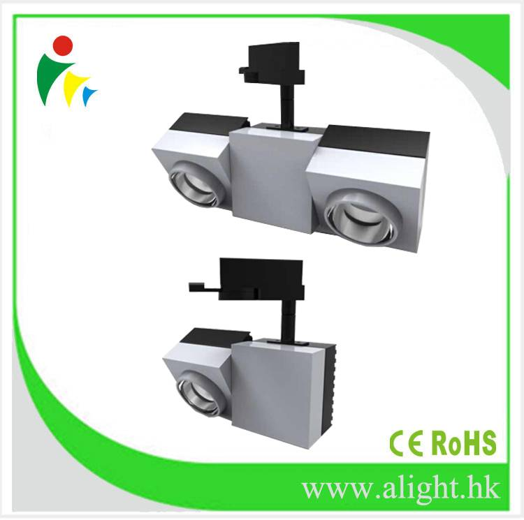 Commercial modern design Cree COB LED gallery track light 40w