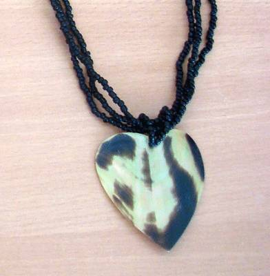 mabe mop necklace shell