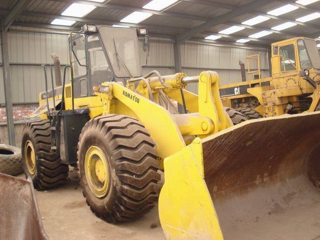 Sell very good working used wheel loader KOMATSU WA 470