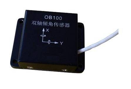 Digital dual-axis tilt sensor