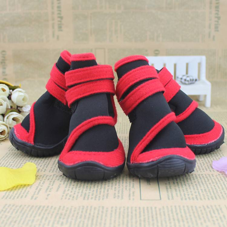 2016 New Fashion Waterproof Pet Shoes