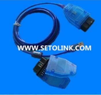 16 Pin connector to USB auto diagnostic cable OBD calbe