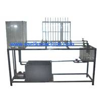 Educational Equipment Reynolds Principle Training Unit Hydraulic Bench
