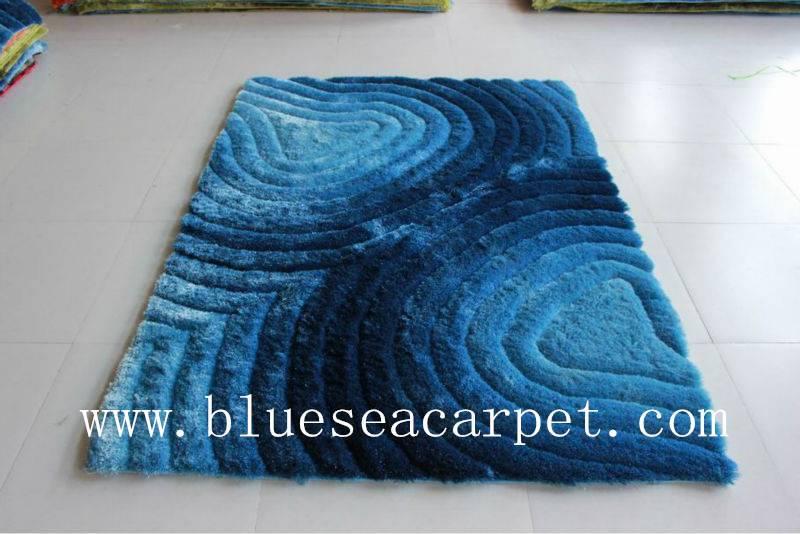 3d shaggy carpet