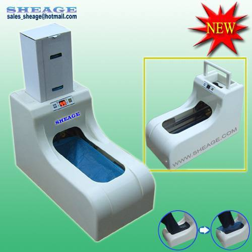 Hospital, Pharma, Cleaning, Sanitary Shoe Cover Dispenser, Shoe Cover Machine SFD-1500 (NEW)