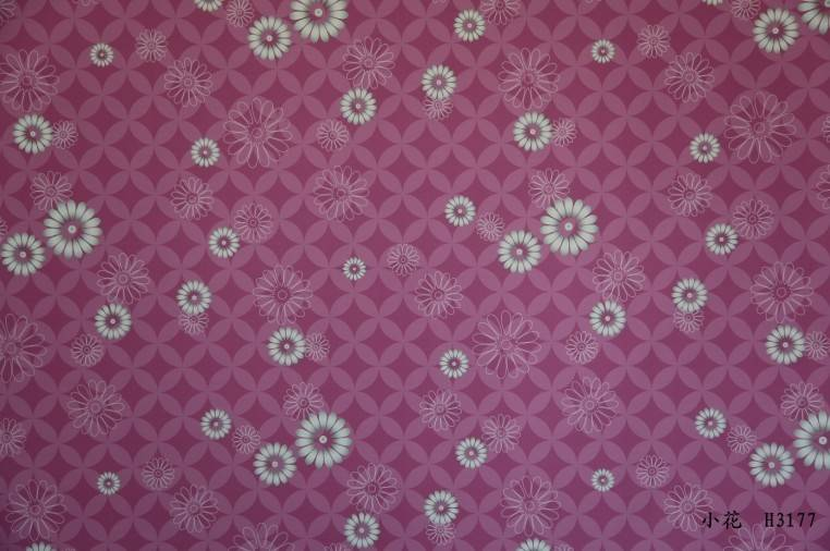 decorative paper printed with flowers for furniture surface