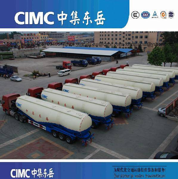 Large Volume Bulk Cement Tanker Semi Trailer