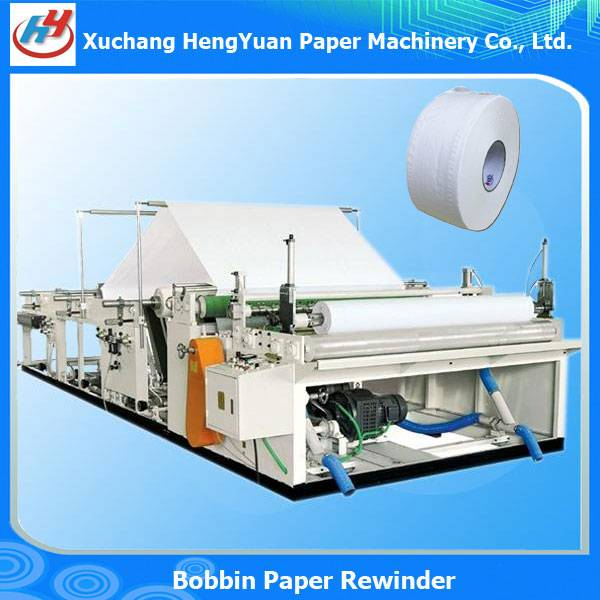 Full Automatic Jumbo Roll Facial Tissue Slitting Rewinding Machine