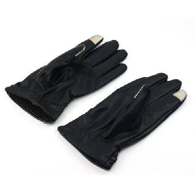 2013 Men woman Luxurious Leather Electricity Melted Touch Gloves for All Capacitive Touch Devices