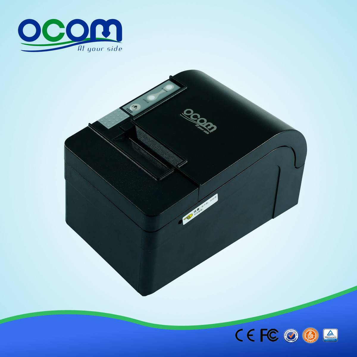OCPP-58C: 58mm thermal receipt POS bill printer with auto cutter