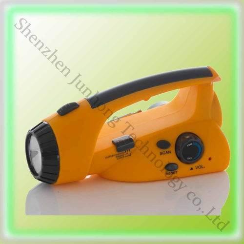 solar torch with AM/FM radio (JHG004)