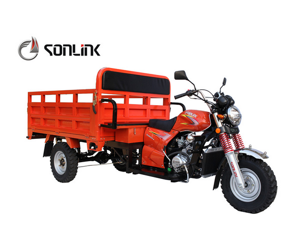 150cc/175cc/200cc Dural & Ecnomic Three Wheels Gas Motorcycle Cargo Trike/Tricycle (SL200ZH)