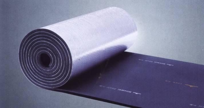 aluminum foil rubber foam roll