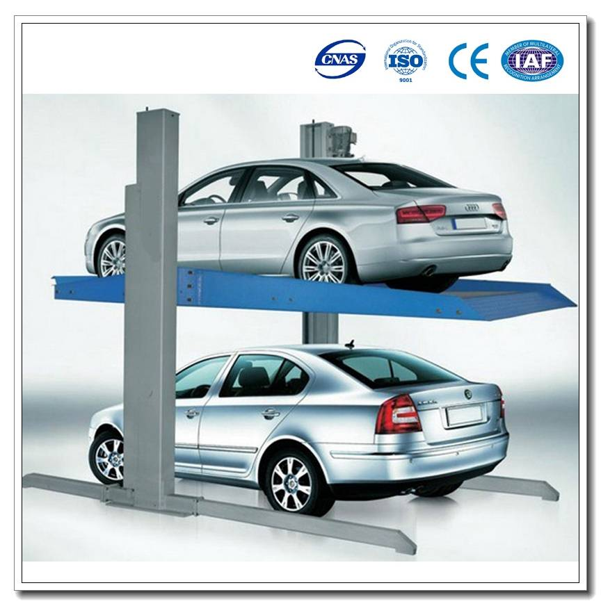 Cheap China Double Car Parking Systems Auto Garage Equipment Reversing Lift Vhicles Parking System