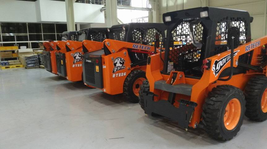 Retech Skid Steer Loader