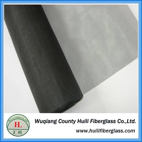 16x14 Mesh Black or Grey Fiberglass Insect Screen / fiberglass window screen