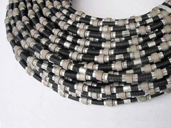 diamond beaded rope for marble profiling