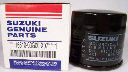 16150-03G00-X07 Suzuki oil filter